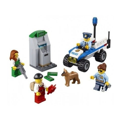 LEGO City: Набор для начинающих Полиция 60136 — Police Starter Set — Лего Сити Город