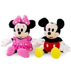 Мягкие игрушки Дисней Микки и Минни Маус