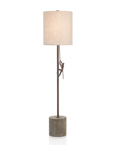 Ascending Man Buffet Lamp