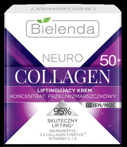 NEURO COLLAGEN Подтягивающий крем-концентрат против морщин 50+ дневной/ночной 50мл