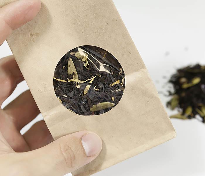 TEA-AR113 Черный ароматизированный чай «Таежный Сбор», черные типсы (50 гр) фото 05