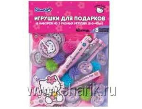 Игрушки д/подарков Hello Kitty 40шт+8п/А