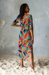 Платье Mia-Mia вискоза рубашечного типа