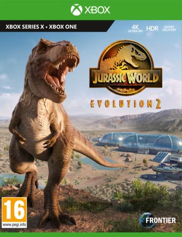 Jurassic World Evolution 2 Стандартное издание (Xbox, русская версия)