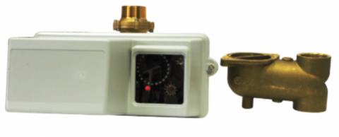 Fleck 3150/1800 Eco375/NBP/SM - Блок управления на умягч. с водосч.