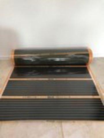 Инфракрасный Пленочный Теплый пол под ламинат с эффектом саморегуляции. Инфракрасная пленка