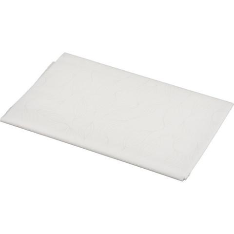 Скатерть одноразовая Aster Creative бумажная ламинированная 120x200 см белая