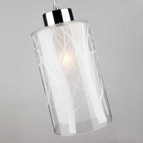 Подвесной светильник 50001/1 хром