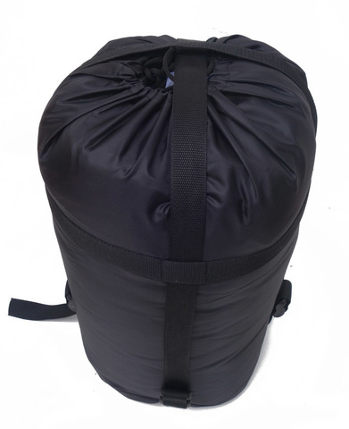Спальный мешок INDIANA Traveller Plus, в собранном виде.