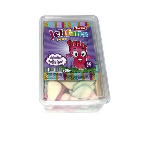 JELIFANS желейные конфеты стопа  1кор*8бл*1шт 900гр