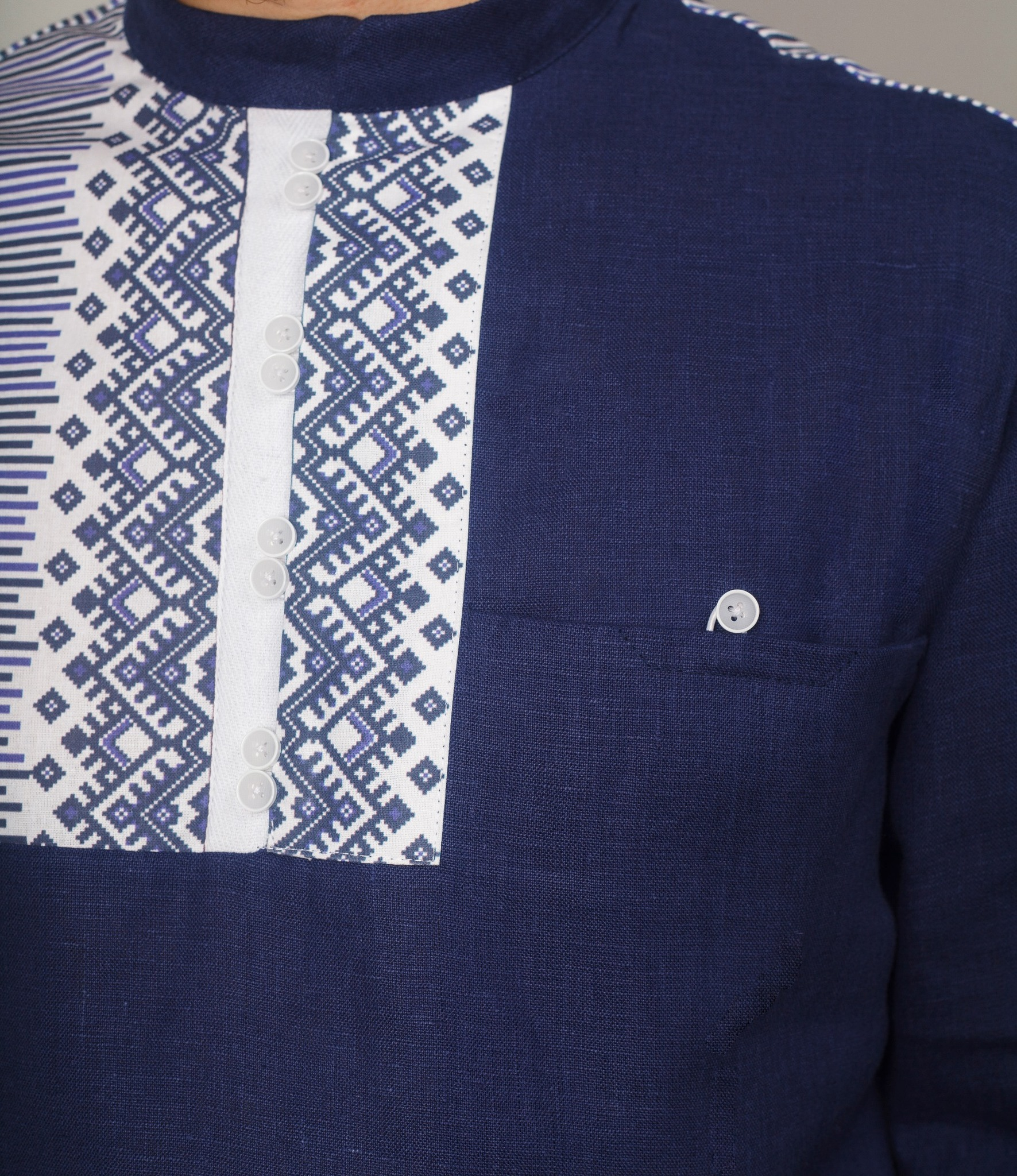 Рубашка мужская Сибирская карман