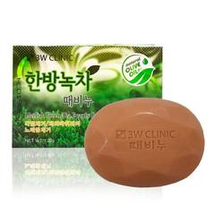 3W Clinic - Мыло для лица и тела