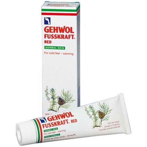 Красный бальзам GEHWOL Fusskraft Red Dry Rough Skin 75 мл