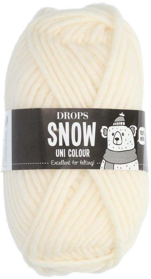 Пряжа Drops Snow Eskimo 01 белый