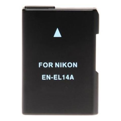 Аккумулятор Fujimi EN-EL14A для Nikon D3200 D5200 D5300 P7100 P7700 P7800