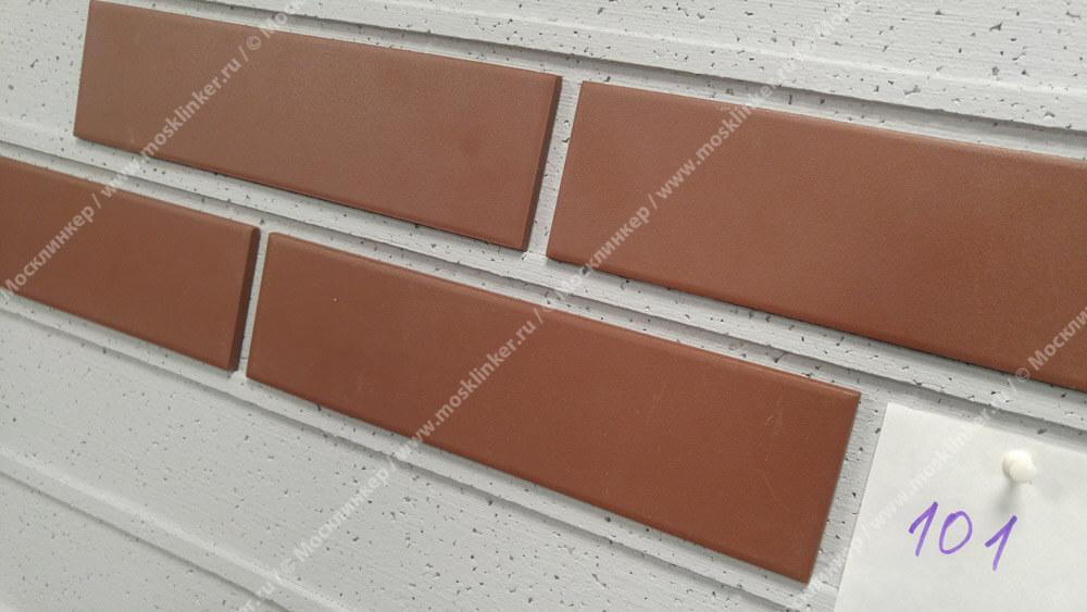 Cerrad Burgund, gladka, 245x65x6.5 - Клинкерная плитка для фасада и внутренней отделки