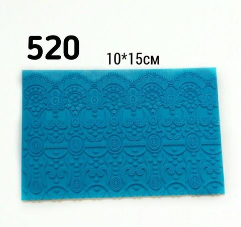 0520 Молд Текстурный коврик Кружево