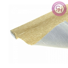 Гофрированная бумага металлик 180 г/м 50*250 см.