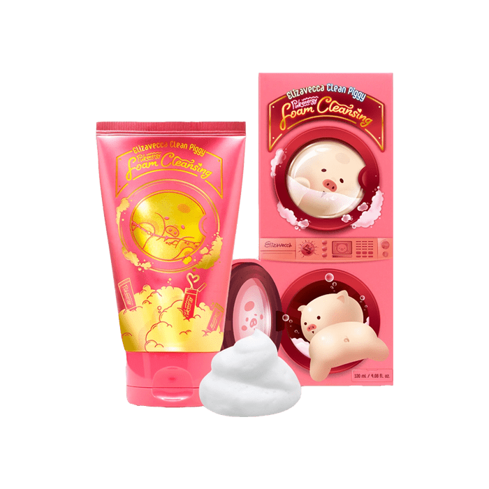 Пенка для умывания Elizavecca Clean Piggy Foam Cleansing