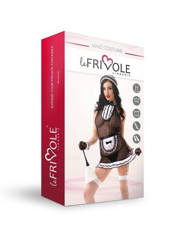 Эротический костюм для ролевых игр Le Frivole Сексуальной прислуги, размер S