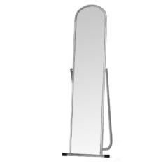 Зеркало напольное 4МSO-01 (хром) 500Lх1550Hx500D мм, зеркальное полотно 1500х250 мм