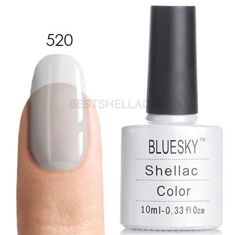 Bluesky Shellac 40501/80501 Гель-лак Bluesky № 40520/80520 Mother of Pearl, 10 мл 520.jpg