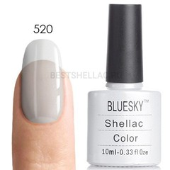 Гель-лак Bluesky № 40520/80520 Mother of Pearl, 10 мл