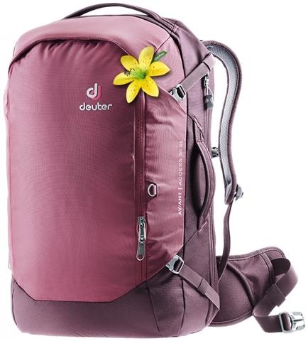Картинка рюкзак для путешествий Deuter Aviant Access 38 SL maron-aubergine - 1