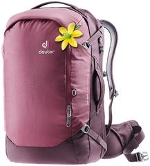 Рюкзак для путешествий женский Deuter Aviant Access 38 SL maron-aubergine