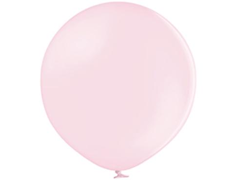 Большой воздушный шар макарунс розовый