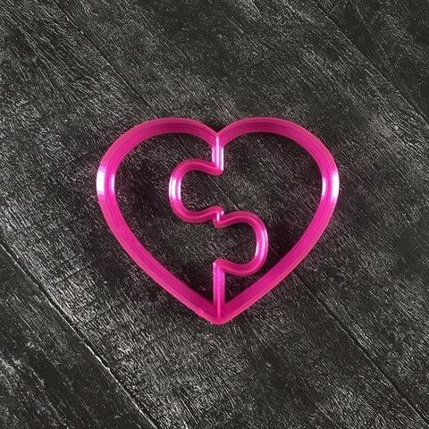 Сердце №3 Пазл