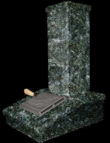 Облицовка на трубу - Серпентинит, высота 790 мм