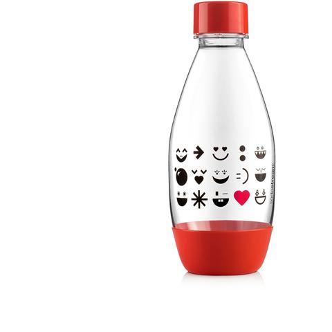Бутылка 0,5L Fuse Smiley red