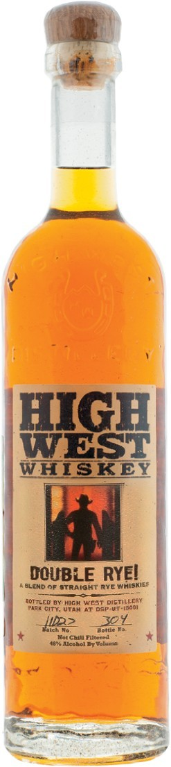 Хай Вест Дабл Рай, купажированный ржаной виски 0,7л