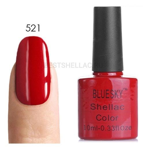 Bluesky Shellac 40501/80501 Гель-лак Bluesky № 40521/80521 Hollywood, 10 мл 521.jpg