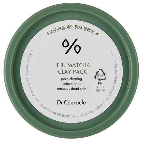 Очищающая Глиняная Маска С Матчей DR. CEURACLE Matcha Clay Pack