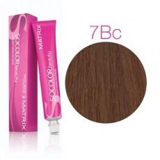 Matrix SOCOLOR.beauty: Brown/Blonde Copper 7BC блондин коричнево-медный, краска стойкая для волос (перманентная), 90мл