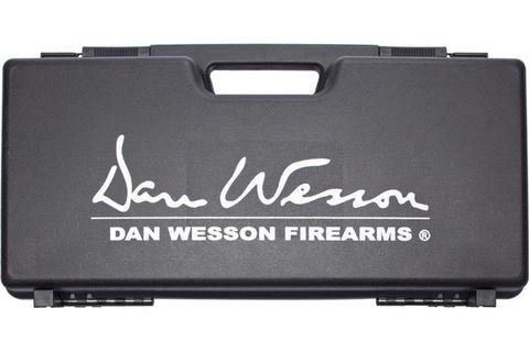 Кейс для револьверов Dan Wesson черный (пластик) Италия (артикул 17365)