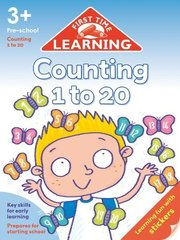First Time Learning: Counting 1 to 20  (3+)