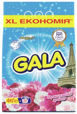 Стиральный порошок Gala 4 кг