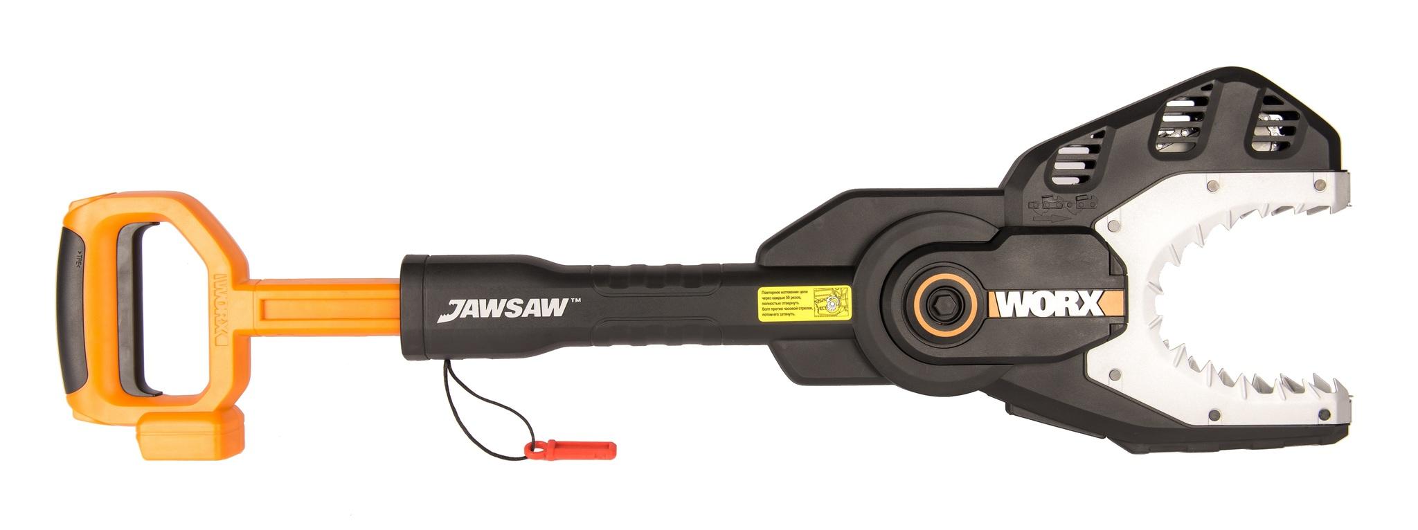Пила аккумуляторная WORX JawSaw WG329E.9, 20В, без АКБ и ЗУ