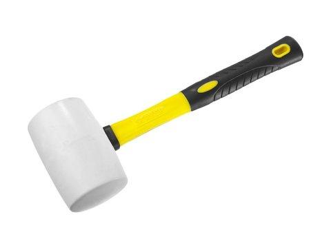STAYER  450г Белая резиновая киянка с фиберглассовой рукояткой