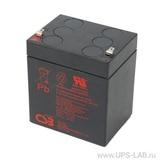 Аккумулятор CSB GP1245 ( 12V 4,5Ah / 12В 4,5Ач ) - фотография