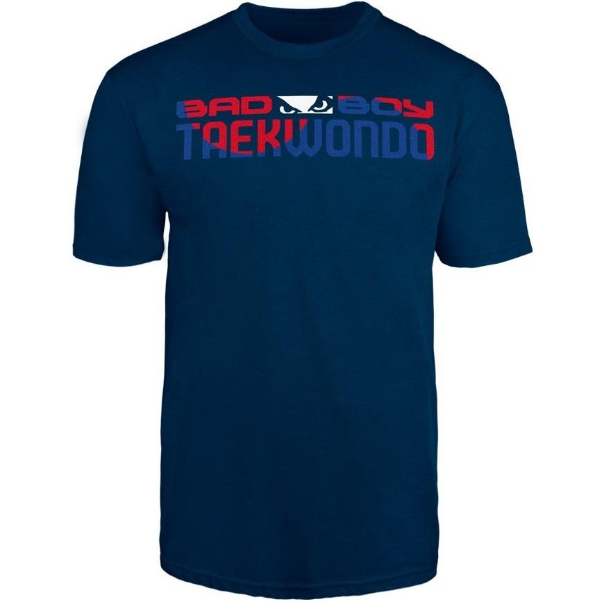 Футболки Футболка Bad Boy Taekwondo Discipline T-shirt Blue& Футболка_Bad_Boy_Taekwondo_Discipline_T-shirt_Blue_.jpg