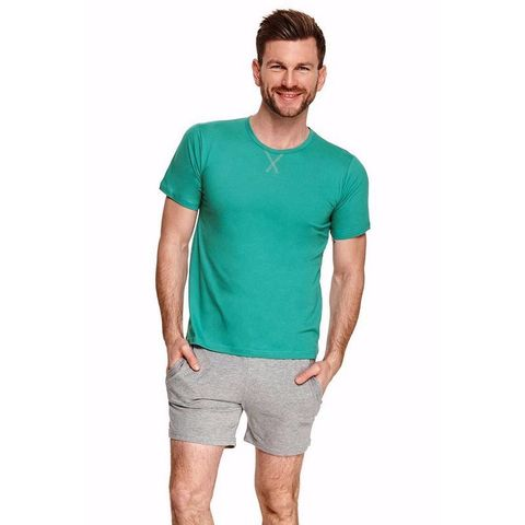 Шорты с карманами + футболка Albert зеленый