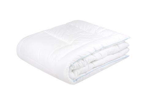 Одеяло  искусственный  лебяжий пух  в сатине теплое.