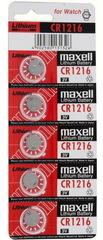 Батарейки Maxell CR 1216 5 BL