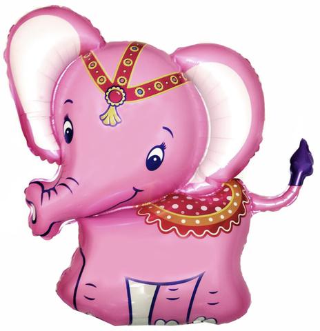 Шар-фигура Слоненок Розовый, 86 см