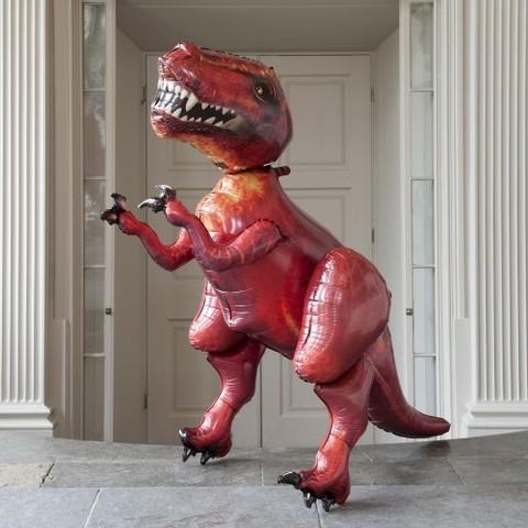 тиранозавр рекс ходячий