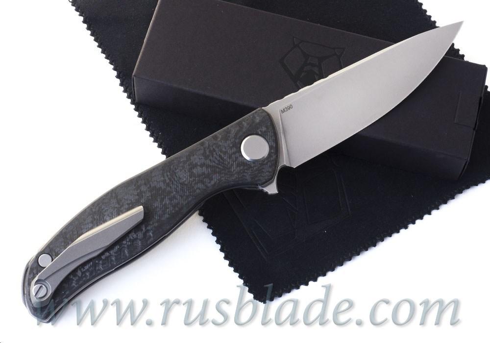 Shirogorov F3 NS M390 CF 3D - фотография